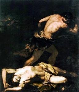 Caino e Abele by Giovanni Battista Langetti