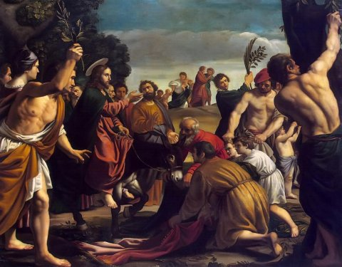 Gesù entra a Gerusalemme