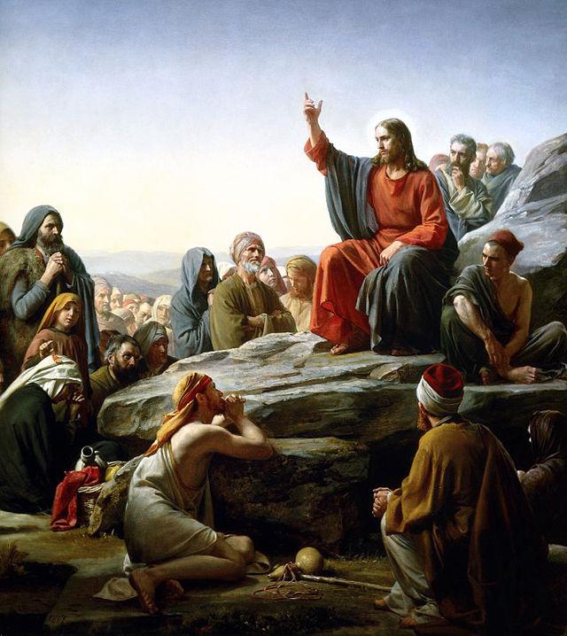 Carl Heinrich Bloch - il discorso della montagna