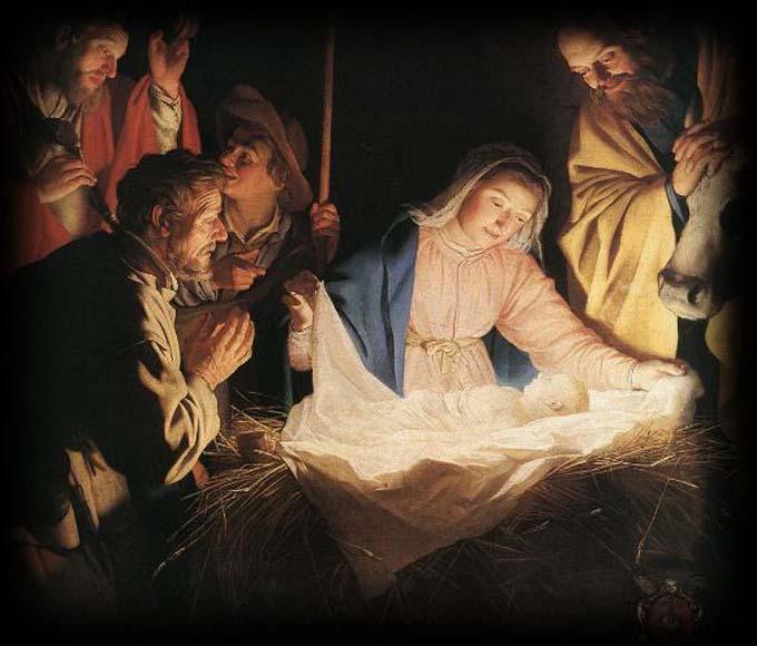 Gerard van Honthorst - nascita di Gesù