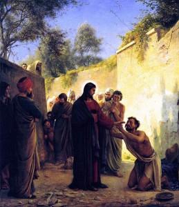Gesù guarisce il cieco - Carl Heinrich BLOCH