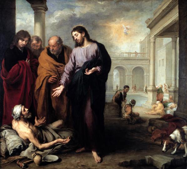 Bartolomé Esteban Murill, Miracolo del paralitico