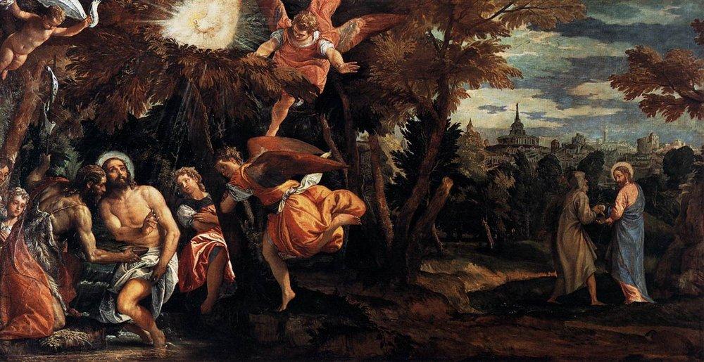 Paolo Veronese - tentazioni di Cristo