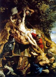 Peter Paul Rubens - elevazione della croce