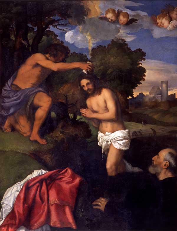 Battesimo di Cristo - Tiziano