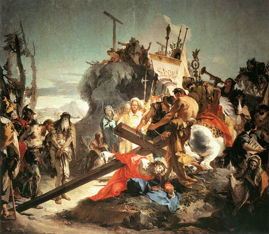 Cristo porta la croce - Giovanni Battista Tiepolo