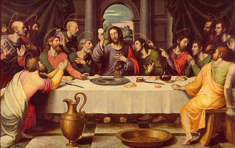 Ultima cena di Gesù - Joan de Joanes