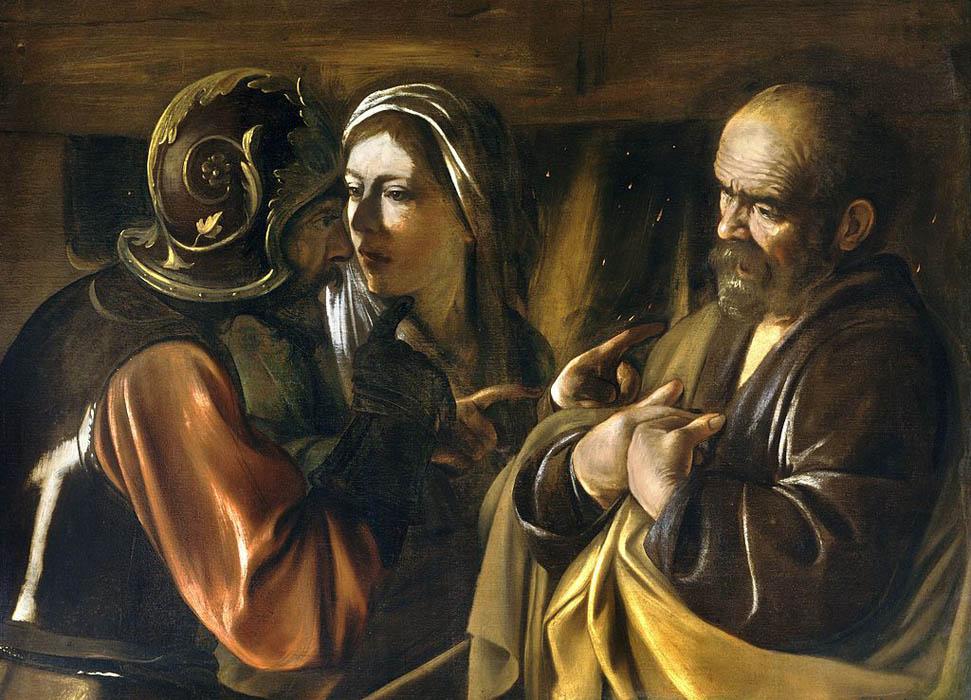 Negazione di san Pietro - Michelangelo Merisi (Caravaggio)