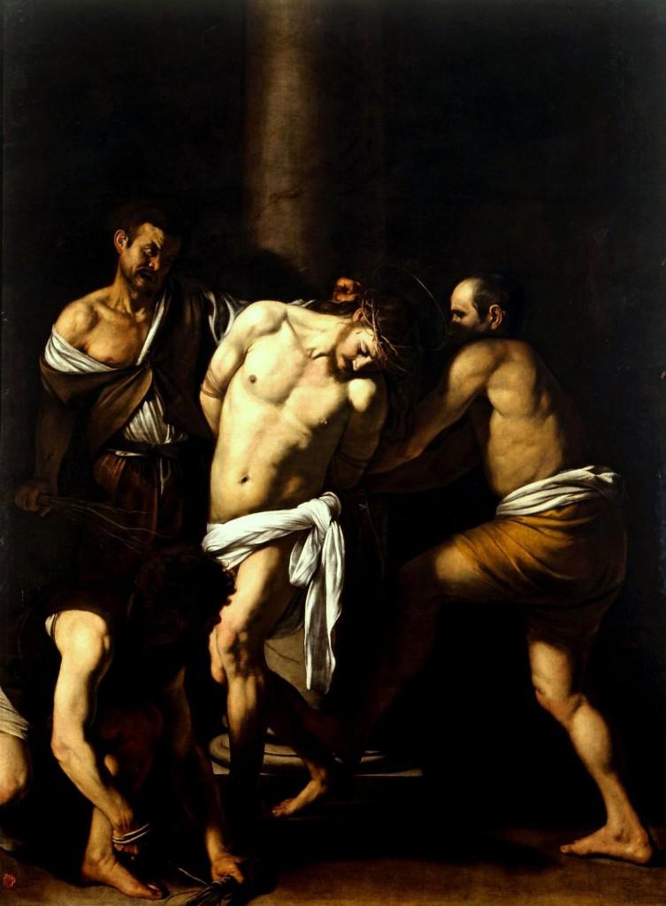 Caravaggio - La Flagellazione di Cristo