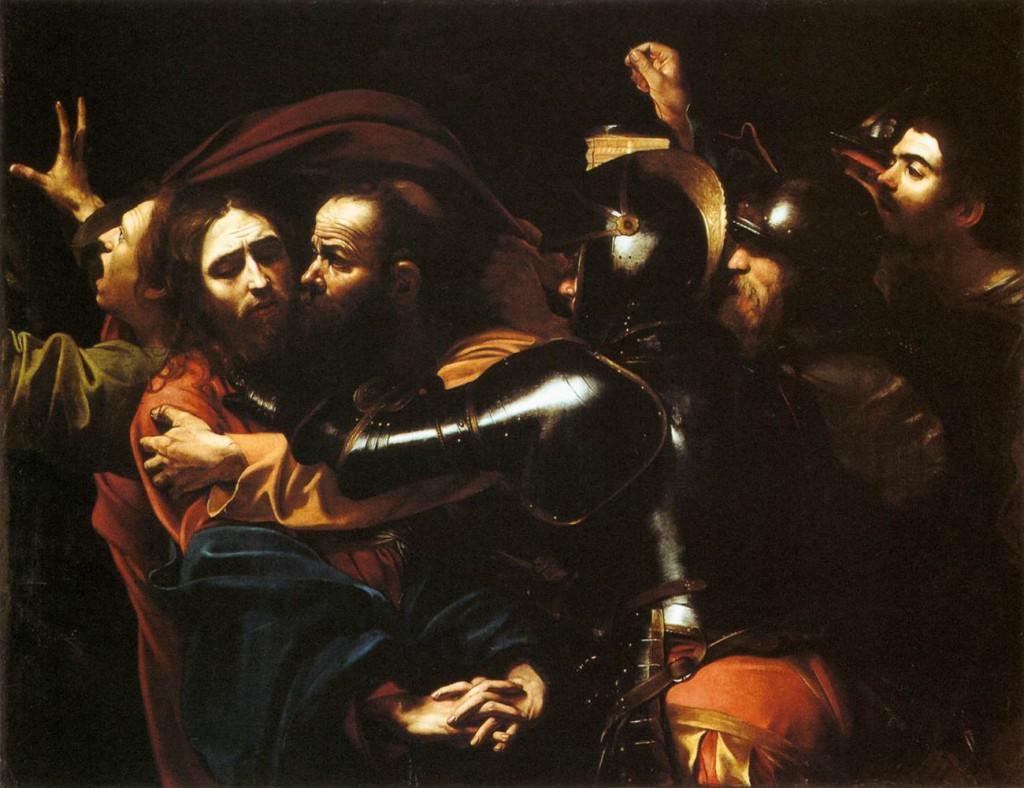 Cattura di Cristo - Michelangelo Merisi da Caravaggio