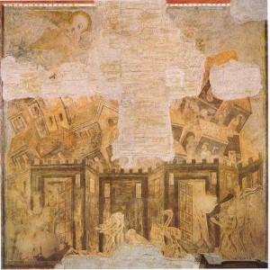 Cimabue - Caduta di Babilonia