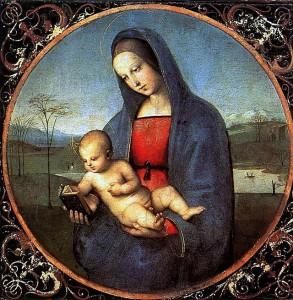 Raffaello - Madonna Connestabile