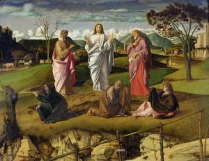 Trasfigurazione di Cristo - Giovanni Bellini