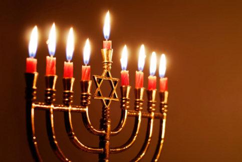 candelabro ebraico