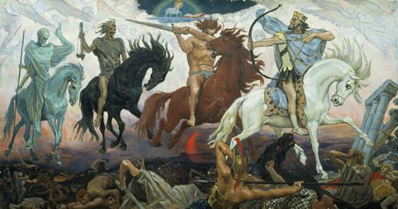 cavalieri dell'apocalisse - Viktor Vasnetsov