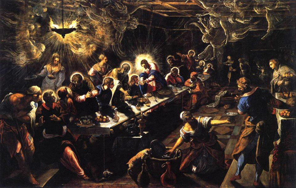 Ultima cena - Tintoretto