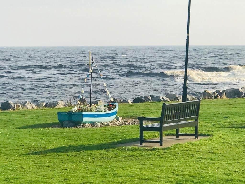 panchina sull'Oceano
