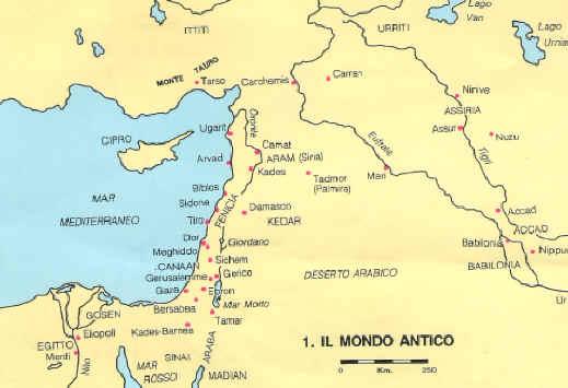 Medio Oriente Cartina Fisica.Storia Del Popolo Ebraico Attraverso La Bibbia