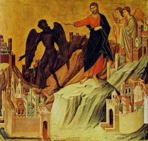 Duccio di Buoninsegna - predella della maestà