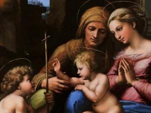 Madonna del Divino Amore, Raffaello Sanzio 1516-1518