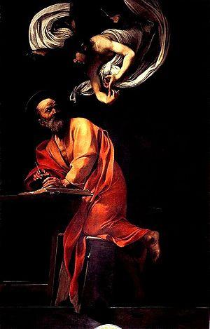 Caravaggio - San Matteo e l'angelo