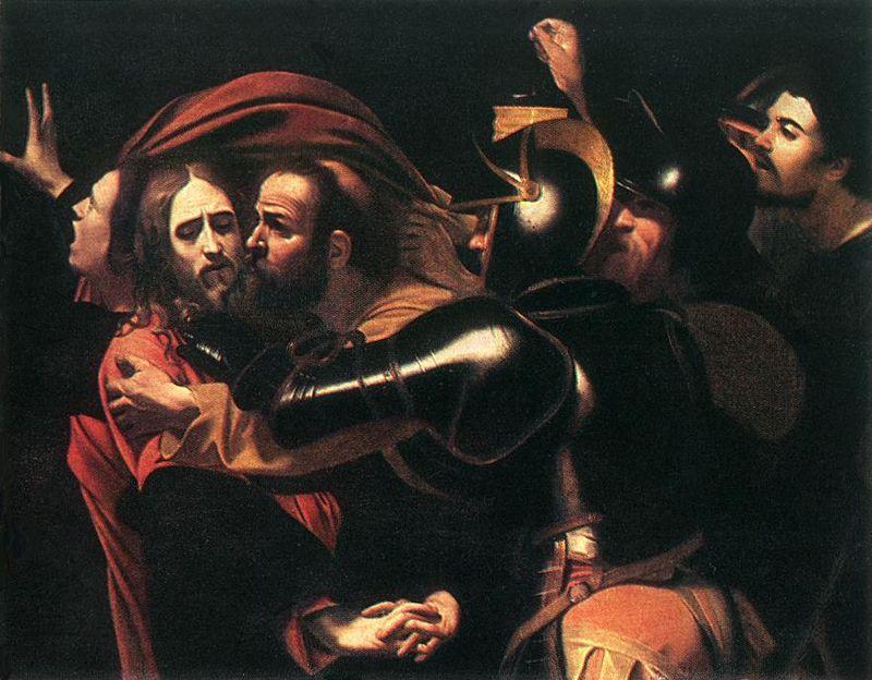 Il bacio di Giuda di Caravaggio