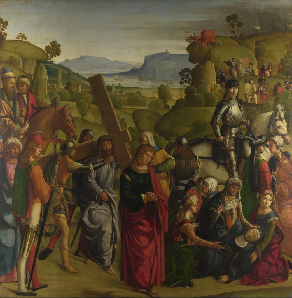 Boccaccio Boccaccino - Andata al Calvario
