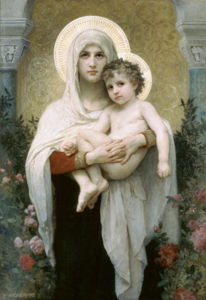 William-Adolphe Bouguereau, La Madonna delle Rose