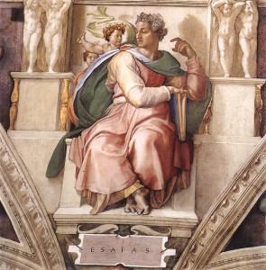 Michelangelo, - Isaia