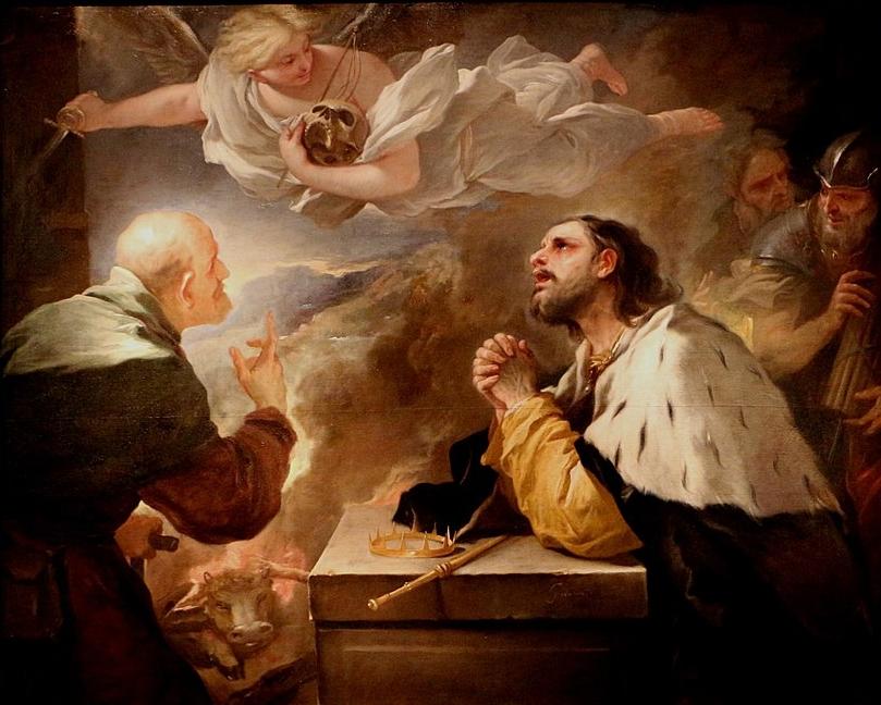 Luca Giordano - Pentimento di Re Davide
