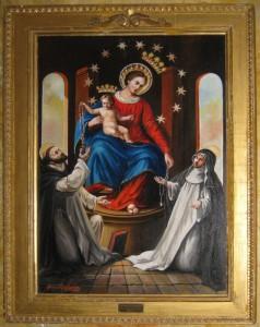 icona della Beata Vergine del Santo Rosario di Pompei
